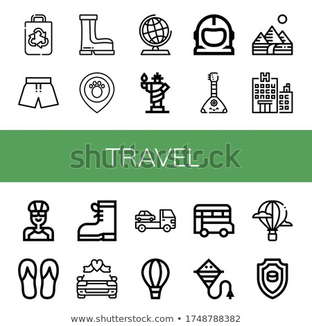 Icon space suit Stock photo © zzve