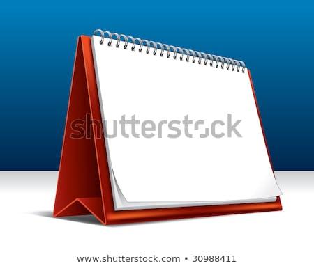 desktop · kalender · icon · Geel · computer · knop - stockfoto © tashatuvango