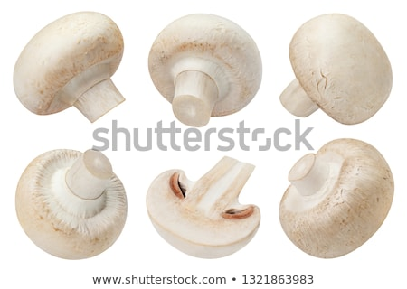 Big Raw Champignons Stock photo © zhekos