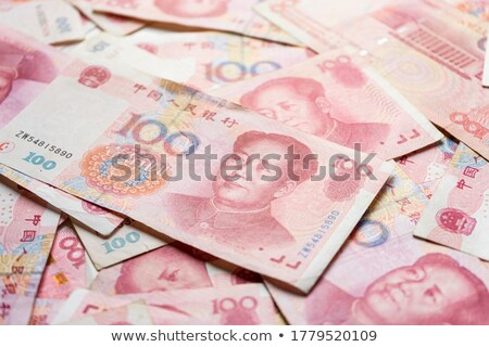 Yuen bank note background Stock photo © lewistse