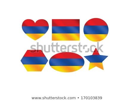 флаг Армения темы дизайна Идея текстуры Сток-фото © kiddaikiddee