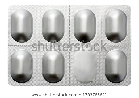Pill an packet Stock photo © russwitherington