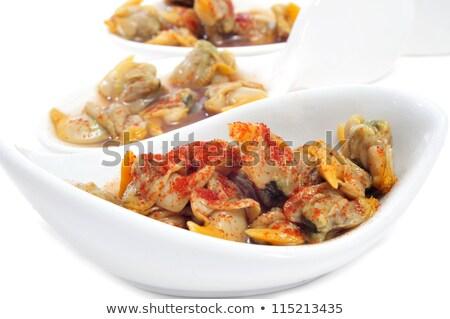 spanyol · gasztronómia · ecet · tipikus · mediterrán · konyha · étel - stock fotó © nito