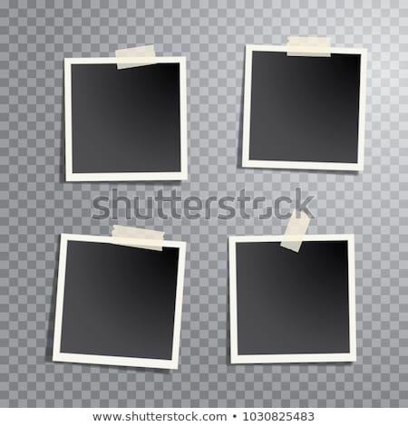 Four instant photos Stock photo © Ustofre9