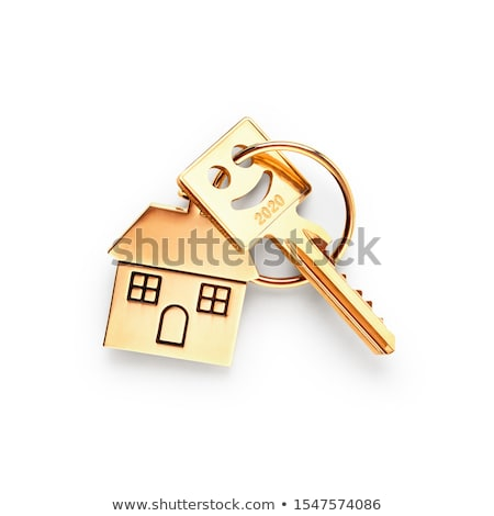 Invest in real estate concept. Clipping path included. Stock photo © sqback