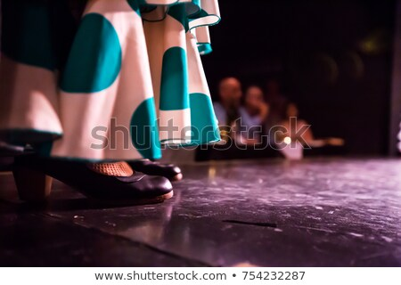 Flamenco legs Stock photo © Novic