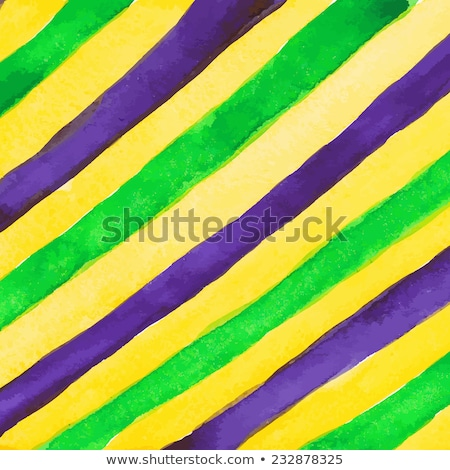 Mardi Gras design elements. Watercolor blots. Stock photo © gladiolus