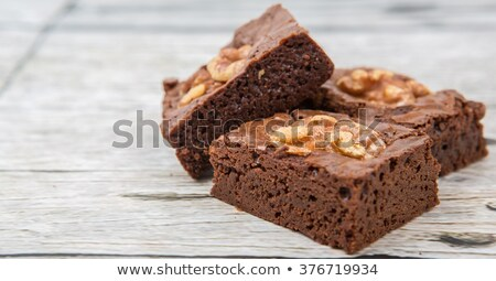 nutty piece of cake  Stock photo © OleksandrO