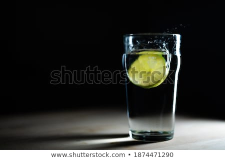 h2o with lime Stock photo © ozaiachin