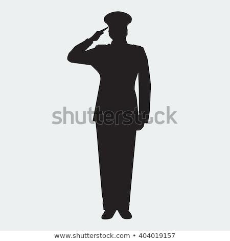 軍 一般的な シルエット ベクトル 画像 ストックフォト © Istanbul2009