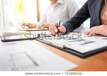 taxes write on folder stock photo © fuzzbones0