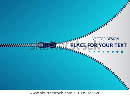 Zipper Concept Stock photo © Lightsource