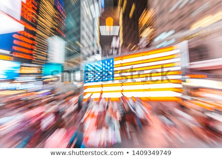 flag of the United States with a zoom effect Stock photo © nito