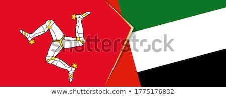 Объединенные Арабские Эмираты человека флагами головоломки изолированный белый Сток-фото © Istanbul2009