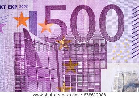 500 · евро · отмечает · изолированный · белый · бизнеса - Сток-фото © haraldmuc