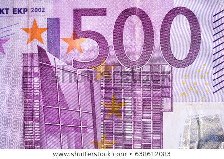 Rolled Euro bank notes on white background Stock photo © haraldmuc
