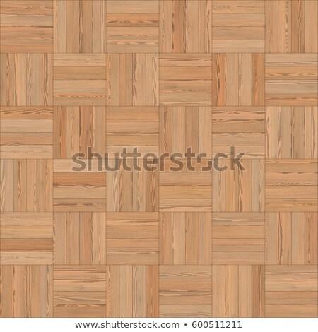 Chess Square Parquet Seamless Floor Pattern Stock photo © Voysla