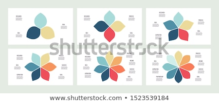 Six flowers Stock photo © bluering