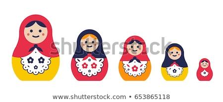 various Matryoshka dolls Stock photo © adrenalina