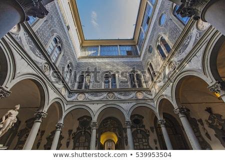 Florence részlet Olaszország művészet építészet klasszikus Stock fotó © boggy