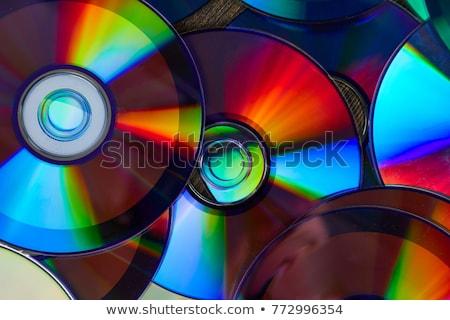 Kompakt lemez illusztráció izolált iroda film Stock fotó © get4net