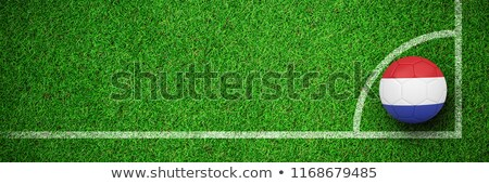 Football holland couleurs herbe verte nature terre Photo stock © wavebreak_media