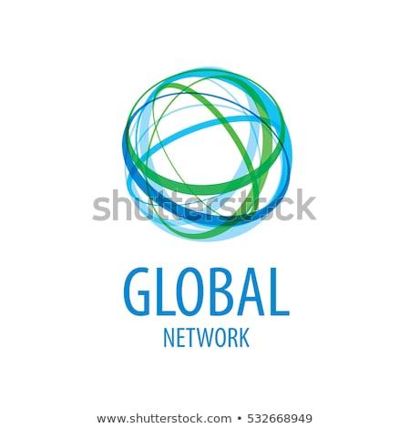 地球 · ロゴ · テンプレート · 世界中 · にログイン · ベクトル - ストックフォト © blaskorizov