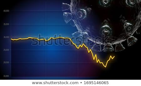 Gyógyulás szöveg modern laptop képernyő iroda Stock fotó © Mazirama