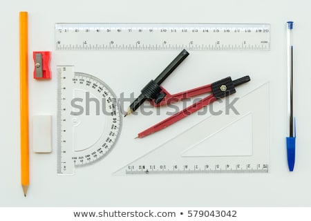 Set of math object Stock photo © bluering