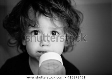 Bebê leite fórmula garrafa Foto stock © dolgachov