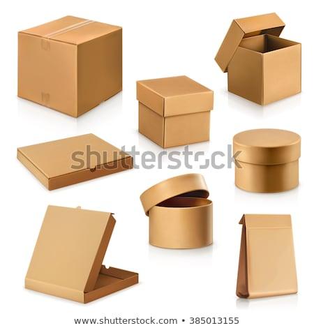 パッケージ カートン コンテナ 孤立した アイコン ベクトル ストックフォト © robuart
