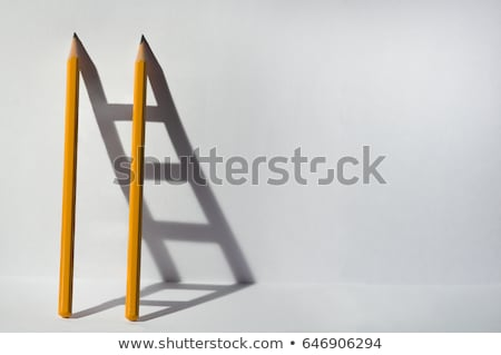 Escada pergunta alvo ponto de interrogação ilustração 3d negócio Foto stock © limbi007