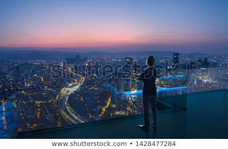 An urban night view stock photo © colematt