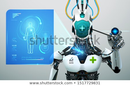 Intelligent interface concept vector illustration Stock photo © RAStudio