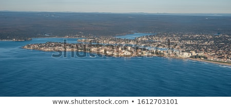 Cronulla Sea Coast aerial views Australia Stock photo © lovleah