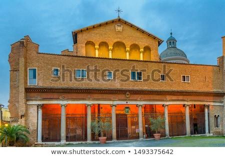 Santi Giovanni e Paolo, Rome Stock photo © borisb17