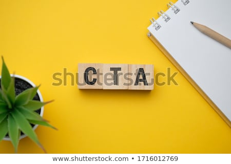 CTA - Call To Action Marketing Concept Stock photo © ivelin