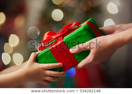 Nino regalo vacaciones presente Navidad Foto stock © robuart