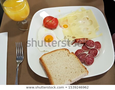 Salami and tomatoes Stock photo © photosil