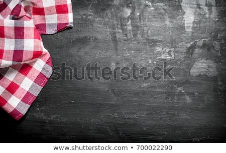 Menü étel ital papír divat terv Stock fotó © Irinavk