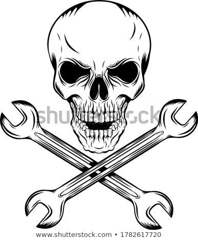Human Skull With Keys Stock photo © stryjek
