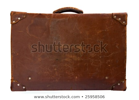 old leather case stock photo © taigi