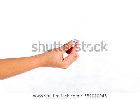 hands holding a focus sphere stock photo © kbuntu