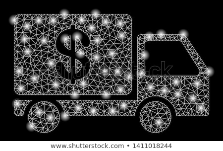 abstract cash collector Stock photo © rioillustrator