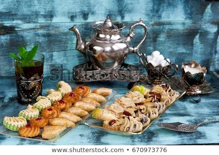 keuken · fastfood · restaurant · markt · voedsel · restaurant · lunch - stockfoto © m-studio