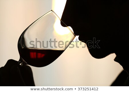 Man sniffing wine Stock photo © photography33