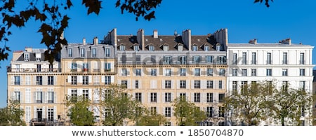 Houses on the quai Stock photo © Hofmeester