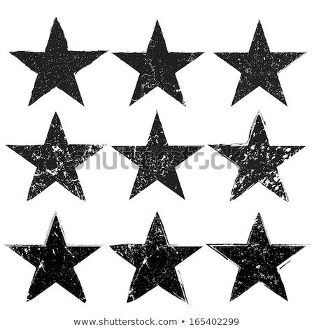 グランジ 星 コレクション いくつかの ヴィンテージ スタイル ストックフォト © squarelogo