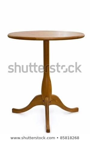 mesa · blanco · textura · madera · casa - foto stock © ozaiachin
