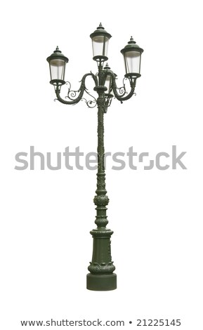 Foto d'archivio: Verde · ferro · strada · lanterna · muro · vetro